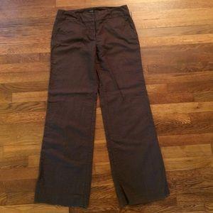 JCrew Perfect Fit Wide Leg Linen Blend Pants Sz 10